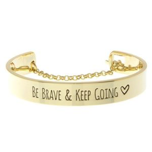 Pulsera be brave tendencia 2018