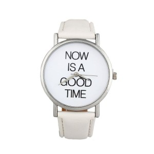 Reloj good time blanco