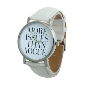 Reloj more issues than vogue