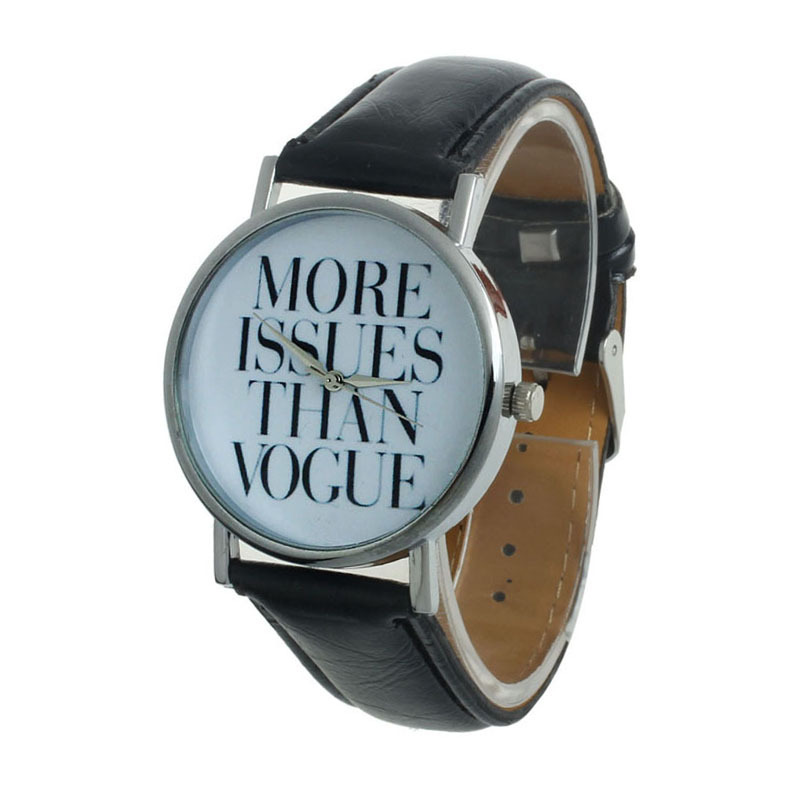 Reloj more issues vogue negro