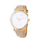 Reloj need love beige