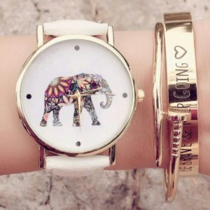 Reloj elefante tendencia 2018