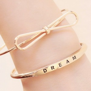 Pulsera dream dorada 2018
