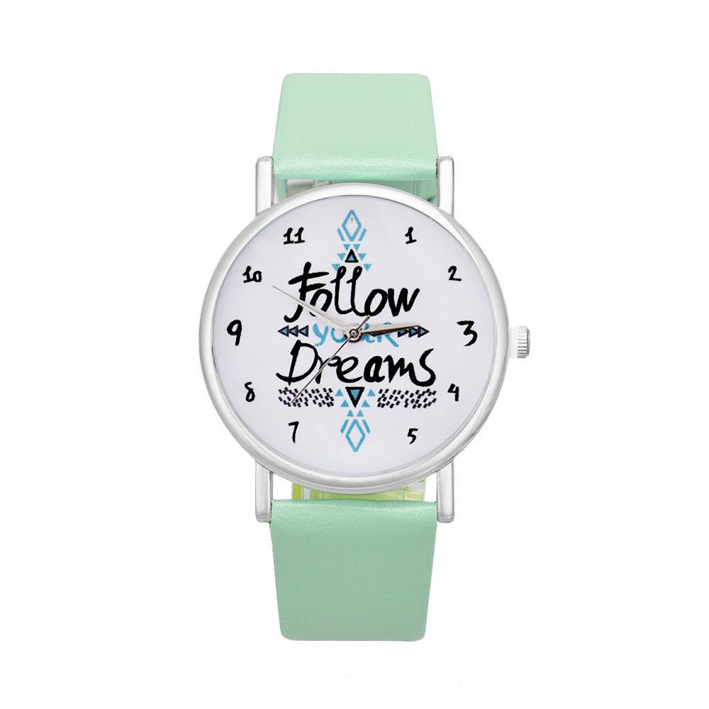 Reloj follow your dreams 2018 menta