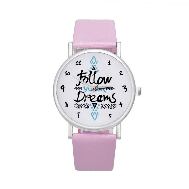 Reloj follow your dreams 2018 rosa