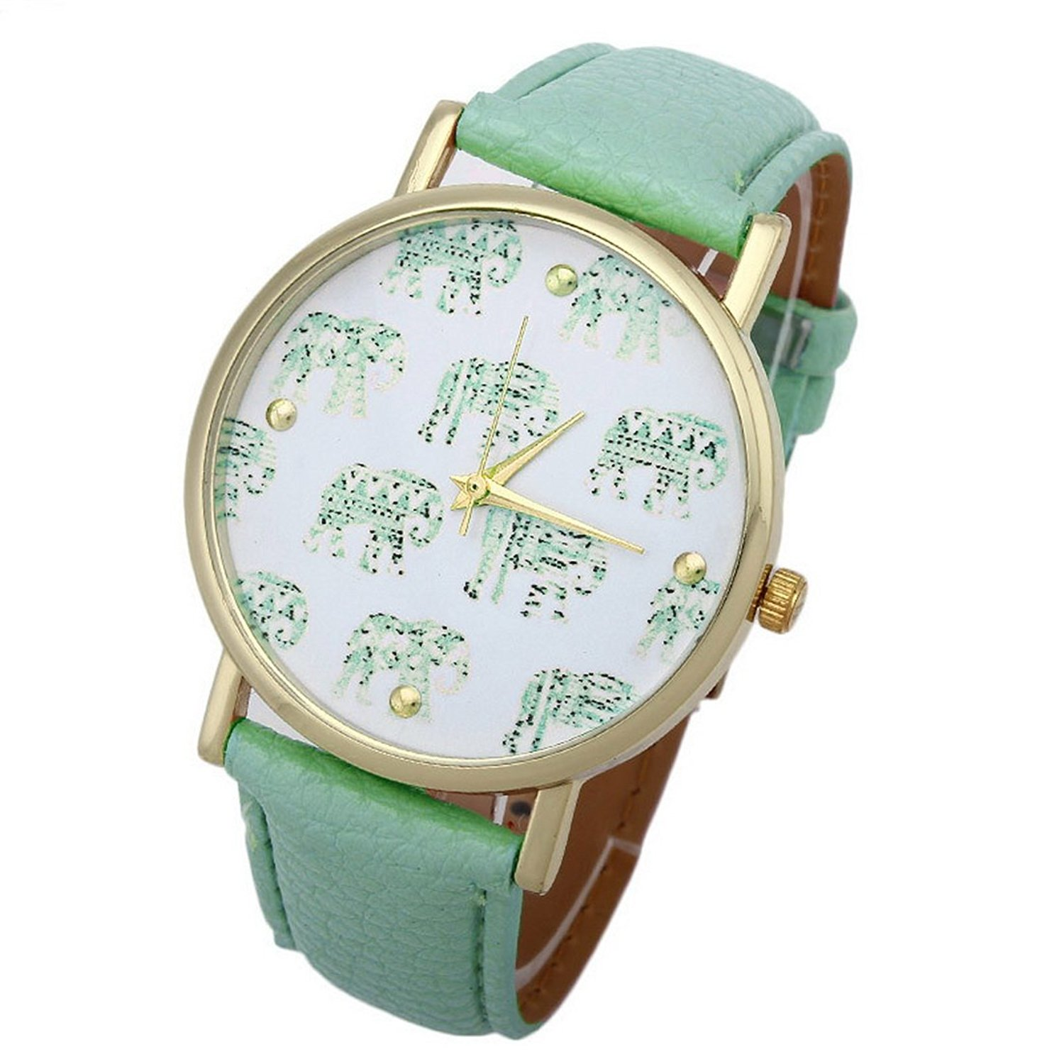 Reloj mujer elefante turquesa