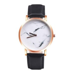 reloj marmol mujer cuero