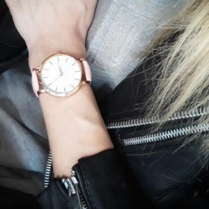 reloj oro rosa